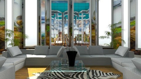 Paradise - Glamour - Living room  - by hetregent