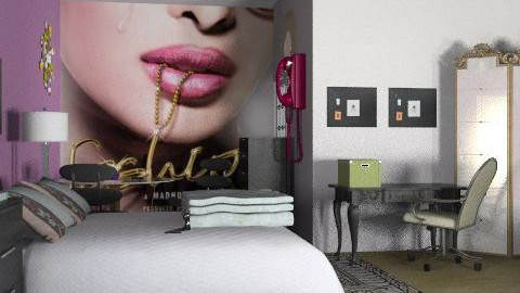 Fashion 101 - Glamour - Bedroom  - by natural11