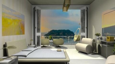 summer - Country - Bedroom  - by Navnita