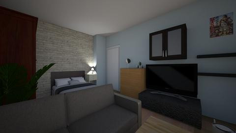 one room and kitchen flat - by Ivelina Filipova