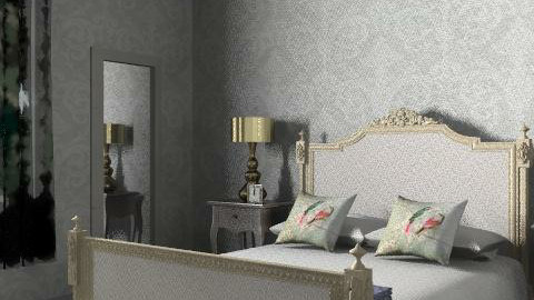 ck-id rococo bedroom - Glamour - Bedroom  - by ckid1
