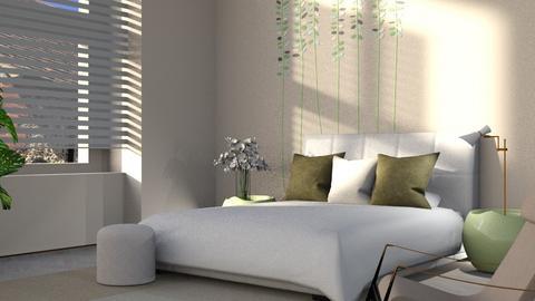 Feng shui bedroom - Bedroom  - by ZuzanaDesign