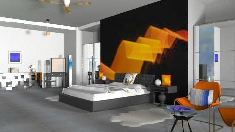 Pops - Eclectic - Bedroom  - by mrschicken