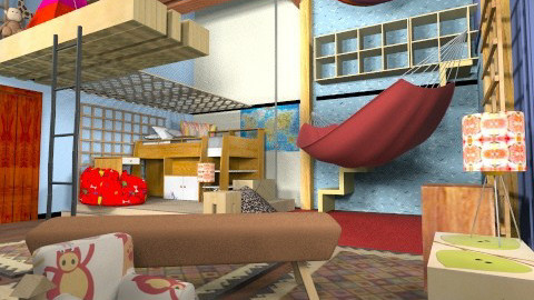 Amazing Spiderman - Classic - Kids room  - by gertjanvanderwel