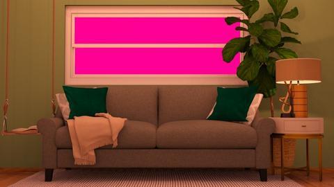 Cozy Living Room - Living room  - by MilksDaBunz