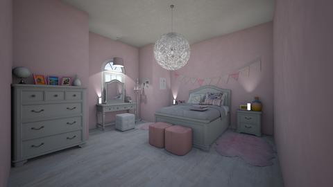 girly girl dream bedroom  - Modern - Bedroom - by jade1111