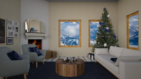 xmastars - Living room - by rosej