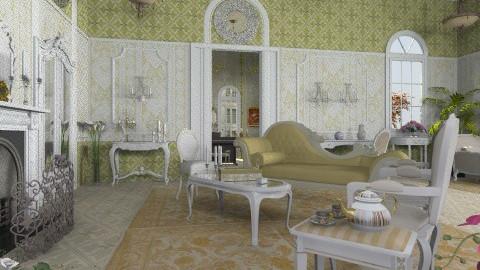 Mozart Livingroom - Classic - Living room  - by Bibiche