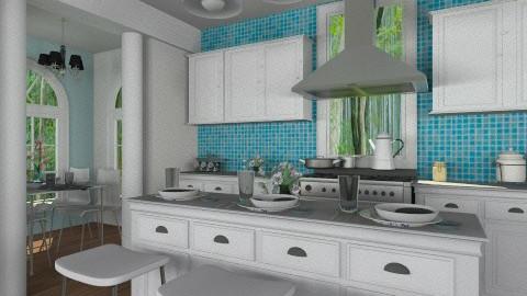 Cute and Cozy - Kitchen  - by smccauley029