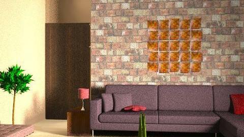 TV Room 1 - Modern - Living room - by zenobiadickson