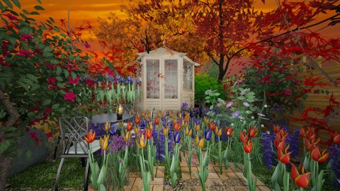 WildGarden - Country - Garden  - by lori gilluly