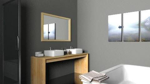 131211 - Minimal - Bathroom  - by Elena Green