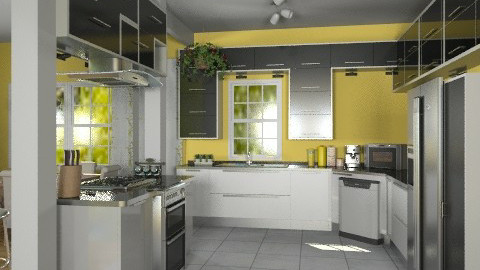 Kitchen2 - Modern - Kitchen  - by Bibiche