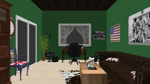 Jon Studio - Eclectic - Office  - by melonknockers