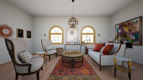 warm rustic - Living room - by meredithcrummey