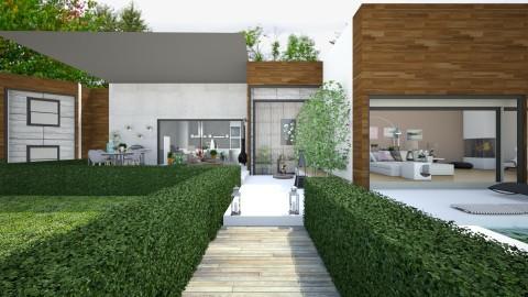 modern house - Modern - Garden  - by Mihailovikj Mimi
