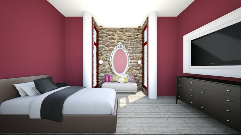 quarto do ultimo andar  - Vintage - Bedroom  - by Kelyana