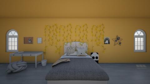 Remake Contest - Retro - Bedroom  - by MillieBB_fan