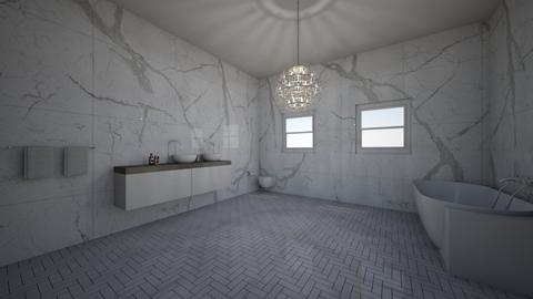 2BATHROOM  - Modern - Bathroom  - by tyran26