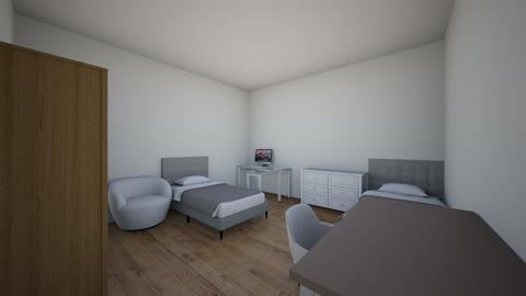 zaid room 1 - Modern - Bedroom  - by iJordano