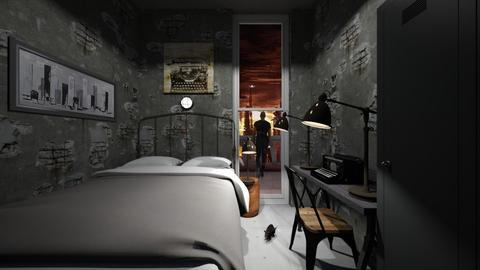 Underground City Apt - Bedroom  - by SammyJPili