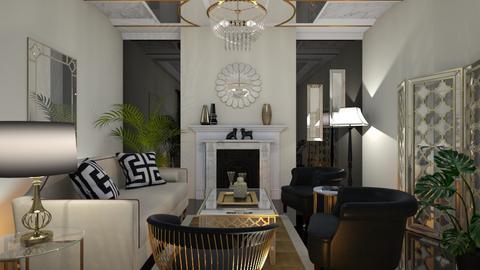 Art deco living - Living room  - by RonRon