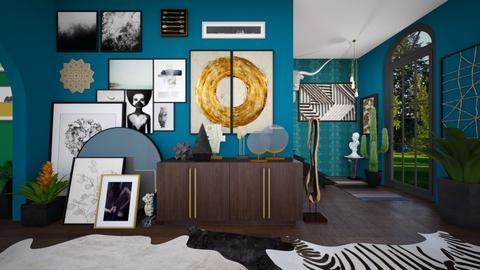 Maxi Hallway - Eclectic - by Designerloft