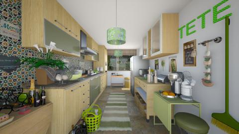Sisters Kitchen - Kitchen  - by Joao M Palla