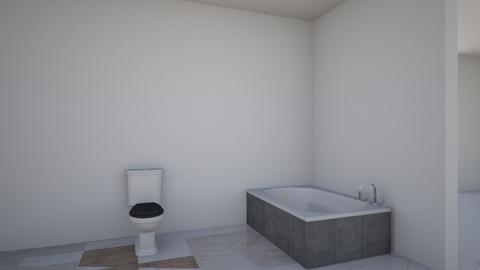 floorplan By Alexis Rios - Modern - Bathroom  - by alexis rios