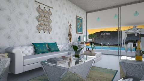 Hollywood Hills Chic - by traynordesigns