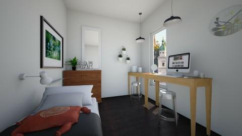 cool bedroom - Vintage - Bedroom  - by franciss