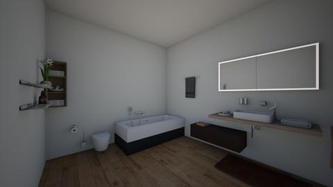 phongtamdongian_001 - Modern - Bathroom  - by tathianhduong2009