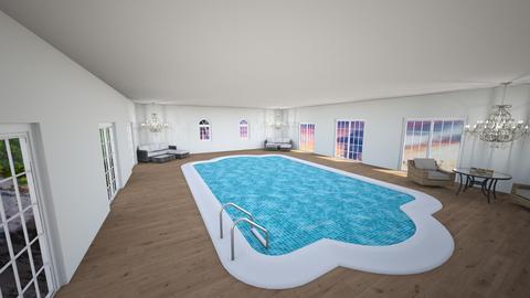swimming pool - Kids room  - by Telah Christie