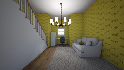 yellow office - Modern - by vhernandezzz