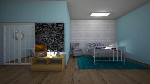 Kiwimelon Contest - Bedroom  - by Ellanaxo