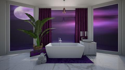 Luxury Bathroom Purple - Bathroom  - by Hamzah luvs cats