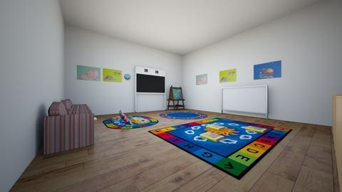Rincon de lectoescritura - Modern - Kids room  - by Samuel Ramos
