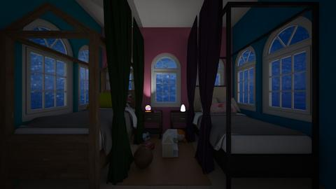 Two kids room - Kids room  - by Agamanta