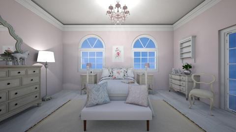 Shabby Chic Bedroom - by jennasnavely98