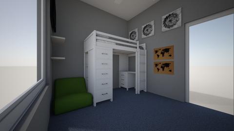 Harpys Room - Kids room  - by Erin Fuhrmeister