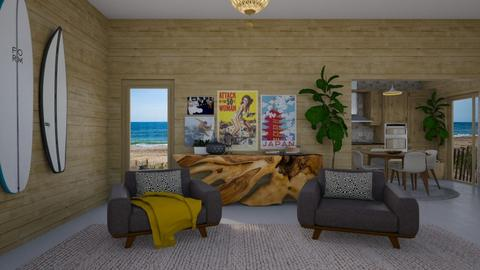surf - Living room - by rosej