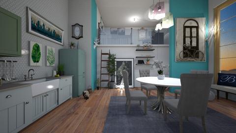Mezzanine apartment - by Ancy