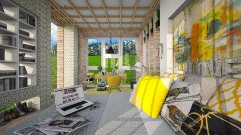 FreshInTheMorning - Modern - Bedroom  - by atiyahanisah