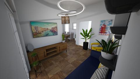 Gunton Lane - Living room  - by rachelbbridge