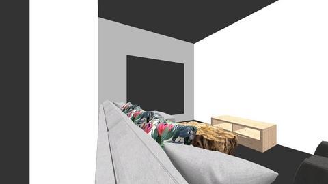 Hall - Living room  - by shwethab
