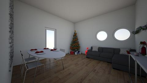 christmas - Classic - Living room  - by skateboredgirl