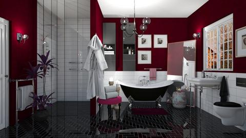 Berry Blast - Modern - Bathroom  - by janip