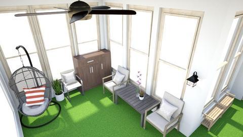 balcony plan - Garden - by zxm_emily