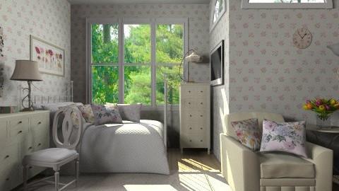 Vintage cute room - Vintage - Bedroom  - by Haecinta