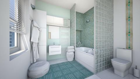 Mint - Modern - Bathroom  - by Bee0196